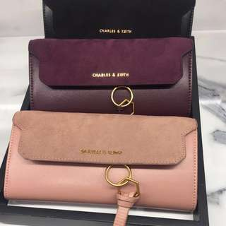 Charles and Keith Tassel Detail Wallet