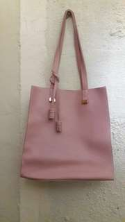 New without tag Miniso Blush Pink Shoulder Bag