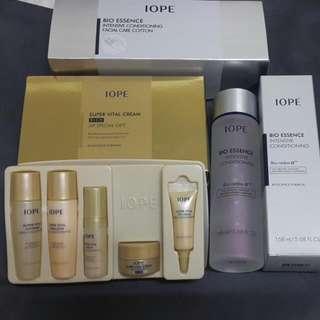 IOPE神仙水168ml+56片專用化妝棉+小樣禮盒