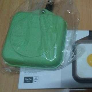 🚚 綠色韓式蛋捲鍋