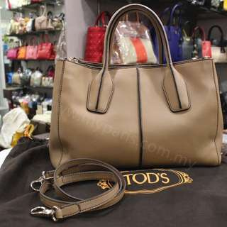Tod's D Styling Small Leather Tote