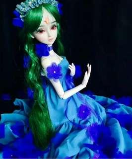 🚚 葉蘿莉改妝60cm娃娃