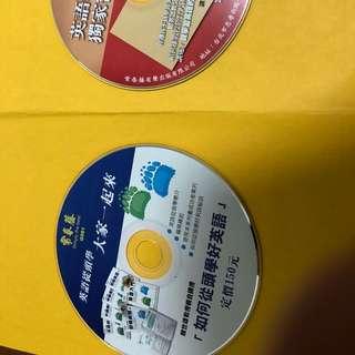🚚 常春藤英語學習光碟2pcs