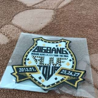 (LIMITED EDITION) BIGBANG ALIVE TOUR THE FINAL BADGE