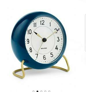 ARNE JACOBSENTABLE STATION TABLE CLOCK WITH ALARM