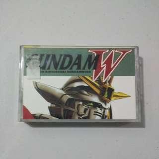Gundam Wing Casette Tape OST