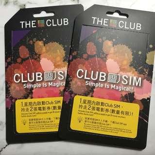 Club SIM card 5gb