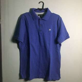 BANANA REPUBLIC Polo Shirt Purple