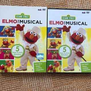 Elmo The Musical DVD