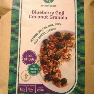 藍莓杞子椰子麥脆 - Blueberry Goji Coconut Granola