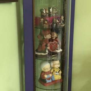 6 feets Display cabinet