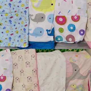 Bed sheets for baby cribs