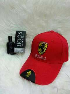 Ferrari cap free perfume