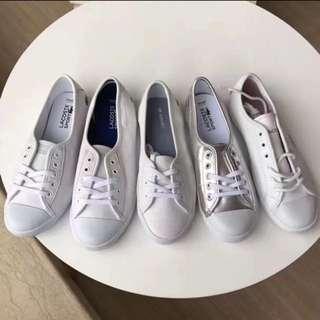 lacoste 🐊鱷魚白色鞋
