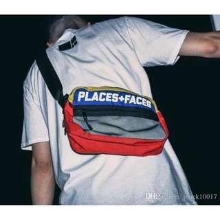 Sling bag places + faces