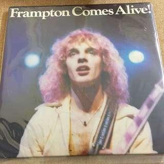 Rare Vinyl Record frampton comes alive double LP