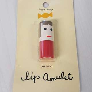 Shiseido lip amulet in Sugar Orange