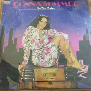 Donna Summer greatest hits on the radio vinyl