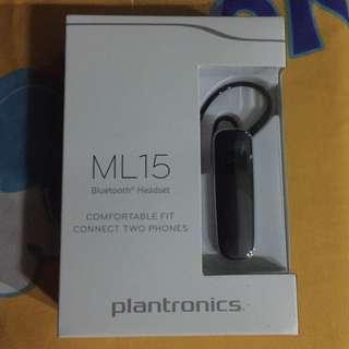 Plantronics bluetooth headset ML15