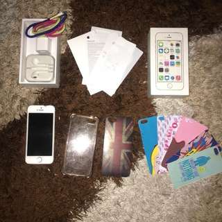 Forsale Iphone 5s 64GB Silver