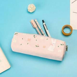 #011 tumblr cute harajuku small flower pencil case