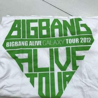 (Limited Edition) BIGBANG MALAYSIA ALIVE TOUR CONCERT T-Shirt