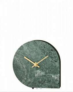 STILLA - DARK GREEN CLOCK