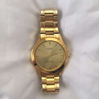 Authentic Casio Gold watch