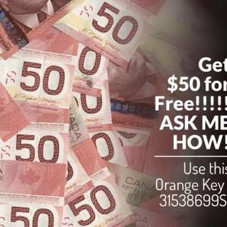 Open a Tangerine Account and receive $50 Free + 2.5% interest