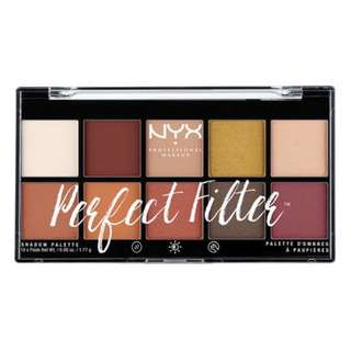 NYX Perfect Filter Shadow Palette (Rustic Antique)