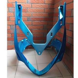 光陽KYMCO 雷霆Racing 150 (SR30BE) 彎道情人 藍色車殼 消光藍 機車殼 H殼 龍頭殼 前土除 左側殼(可合買)