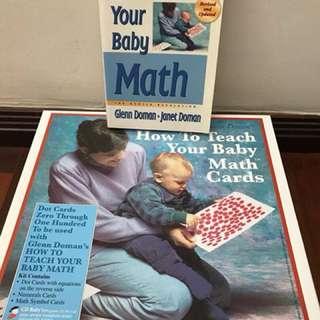 Glenn Doman How to Teach Your Baby Maths Deluxe Kit