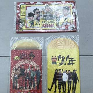 (LIMITED EDITION) BIGBANG EPOP ANGPAO COLLECTION SET