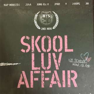 Bts: Skool luv affair 專輯