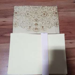 Wedding Invitation Cards and Envelopes