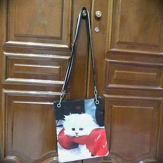 Sling bag kucing