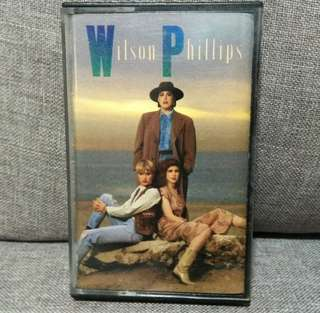 arthcs WILSON PHILIPS Cassette Tape (Hold On, Release Me, You're In Love etc)