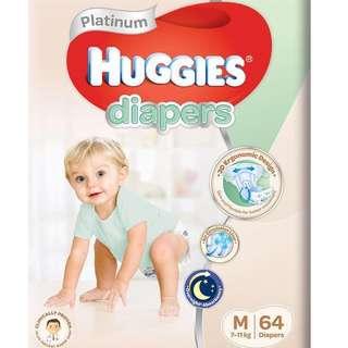 Huggies platinum M size [Tape]