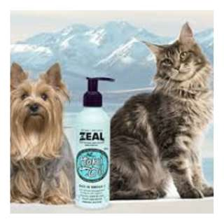 Zeal Pure Natural New Zealand Hoki Fish Oil Cat & Dog Supplement 220ml