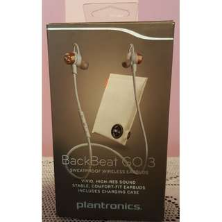 Plantronics BackBeat Go 3 (sweatproof wireless earbuds)
