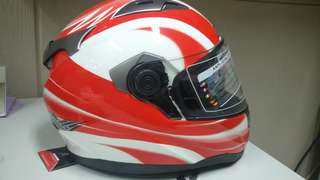 For sale full face helmet double visor
