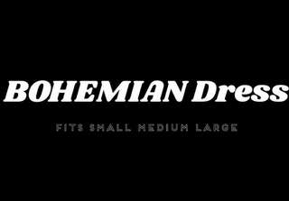 Bohemian Dress Plain