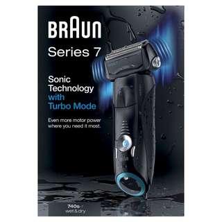 Braun 百靈 740S 智能音波極淨電動剃鬚刨 德國製造