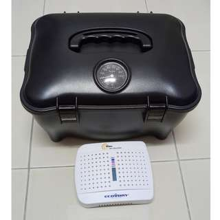 Camera Dry Box with Chargeable Dehumidifier