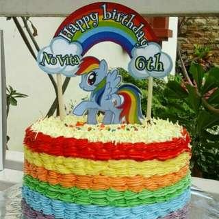Rainbowcake Little Pony