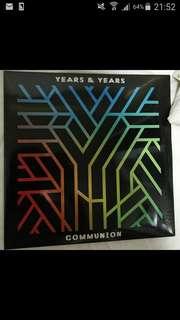 Years & Years Communion Vinyl
