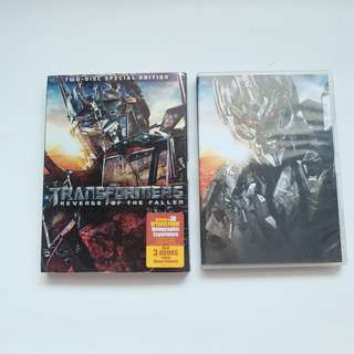 transformers movie dvd