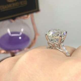 💥罕有寄賣7.21卡巨鑽💎老貨好火❗平售$398000💥 🌸 現貨鑽石戒指💍 冇黑點 超好火😮⚡🌺