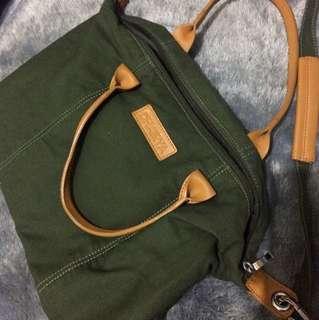 Dhairya Green Bag