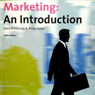Marketing: An Introduction by Gary Armstrong & Philip Kotler
